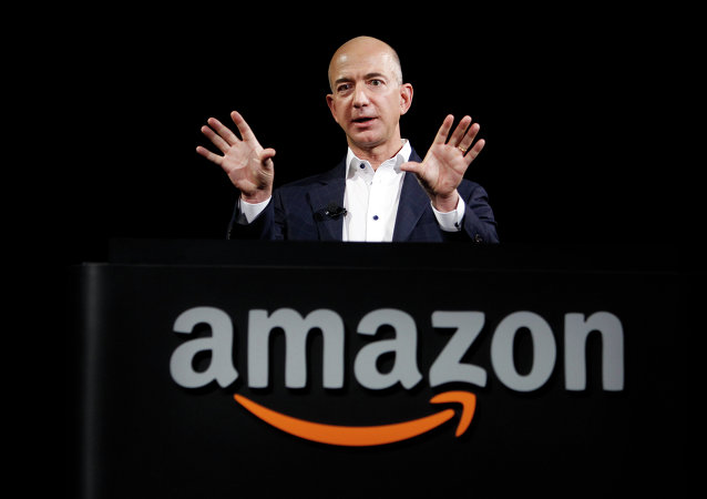 Jeff Bezos, CEO de Amazon