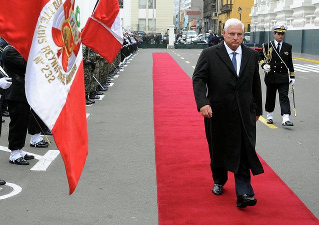 Ricardo Martinelli, ex presidente de Panamá (2009-2014)