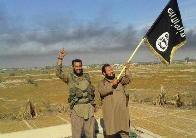 Militantes de EI en Irak