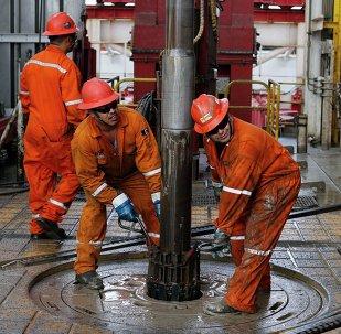 La perforación de petróleo