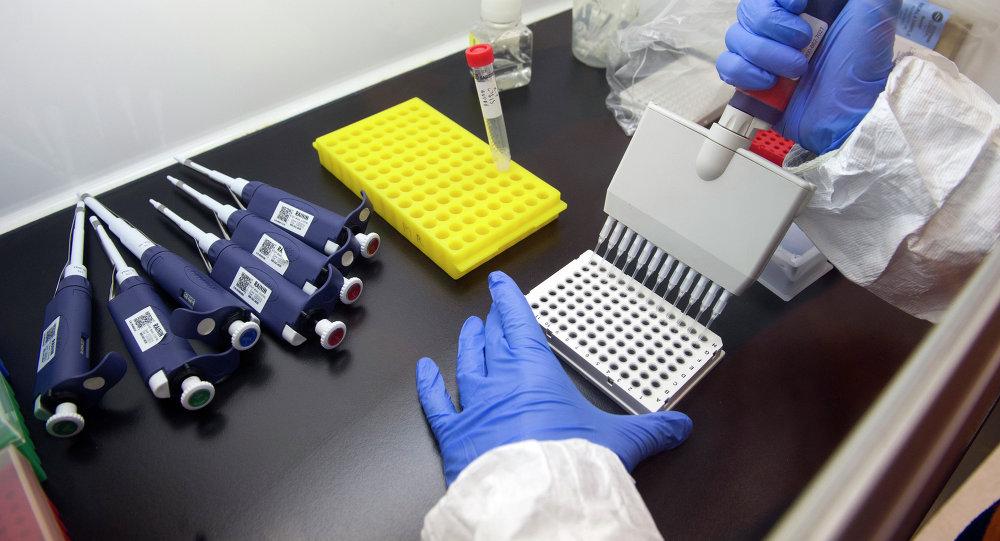 Vacuna contra el ébola (archivo)