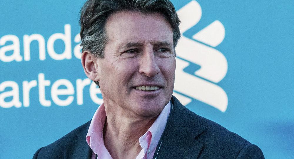 Sebastian Coe, presidente de la IAAF