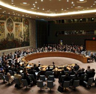 Consejo de Seguridad de la ONU en la sede de la ONU en Nueva York, el 20 de julio, 2015