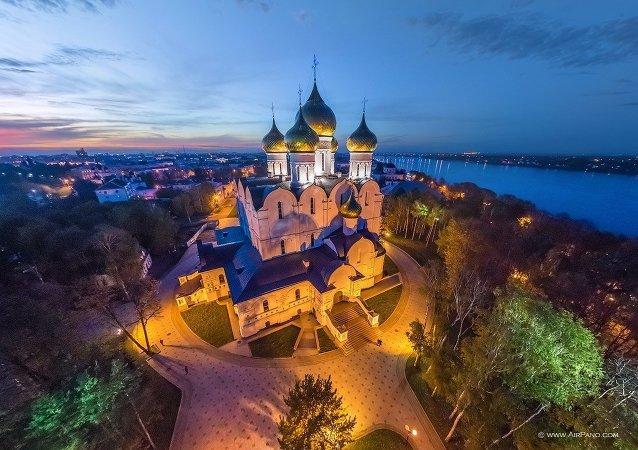 Ciudades del Anillo de Oro de Rusia vistas a vuelo de pájaro