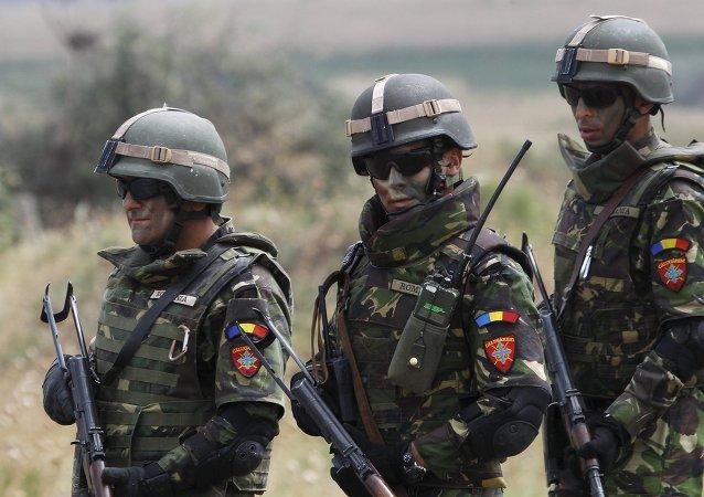 Soldados rumanos