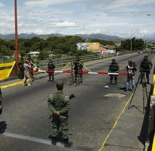 La frontera entre Colombia y Venezuela