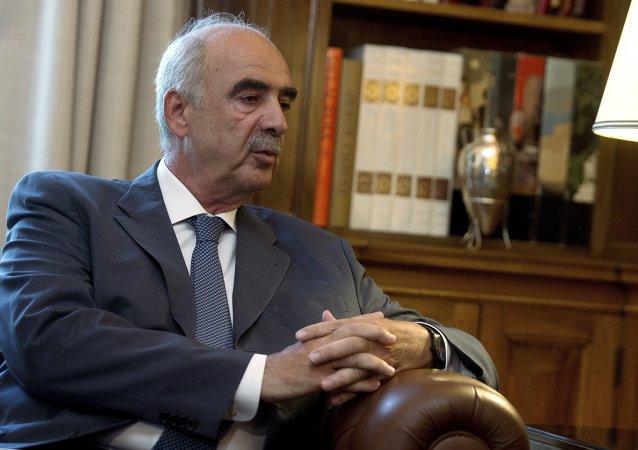 Vangelis Meimarakis, líder del partido conservador griego Nueva Democracia
