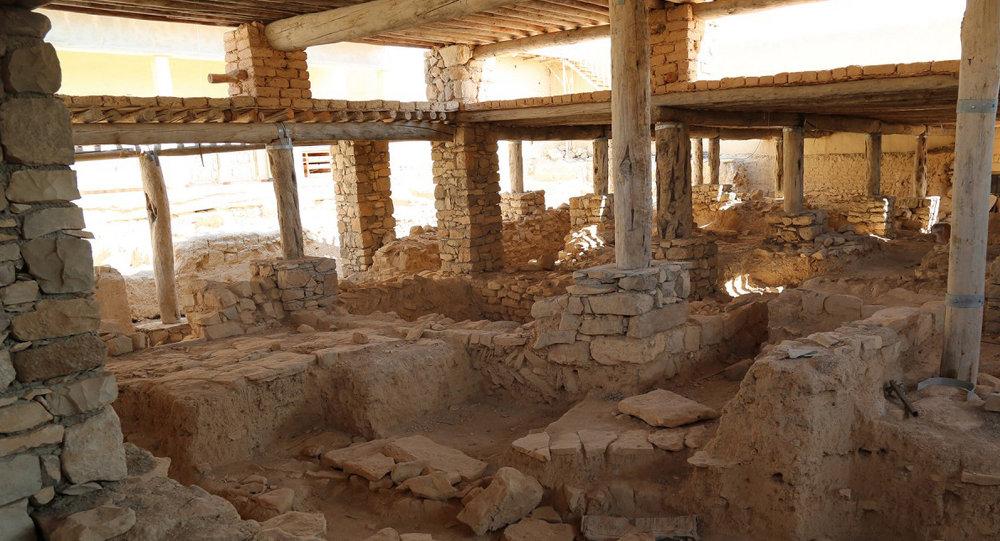 Monasterio de San Elián, derrumbado por los militantes del grupo yihadista EI