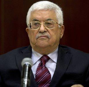 Mahmud Abás, presidente de Palestina (archivo)