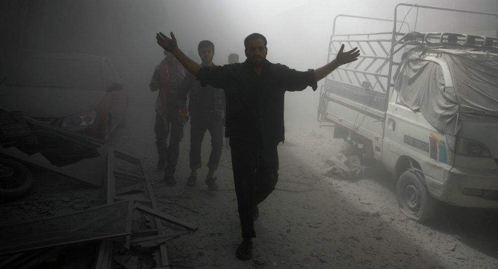 Situación en la ciudad siria de Duma (archivo)