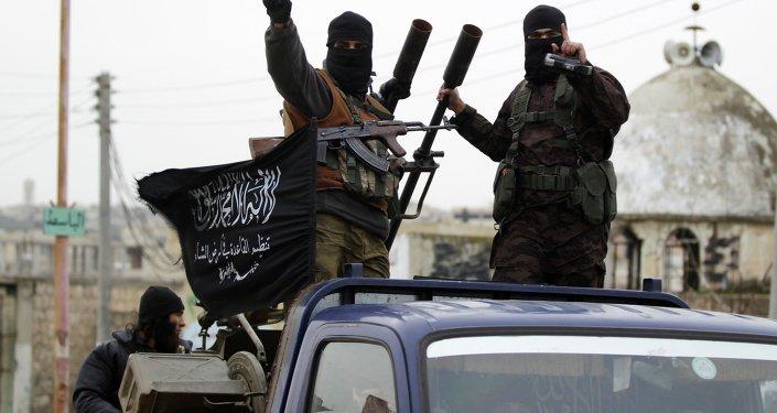 Radicales del grupo terrorista Frente Al Nusra