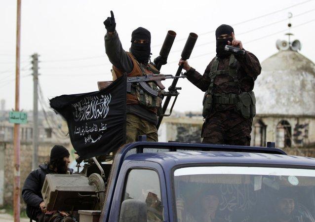 Los miembros del frente Al Nusra (archivo)