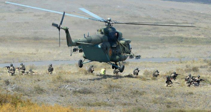 Maniobras de OTSC en Kazajstán