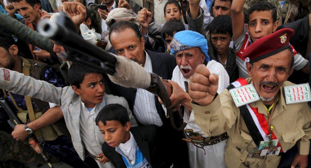 Los hutíes en Yemen