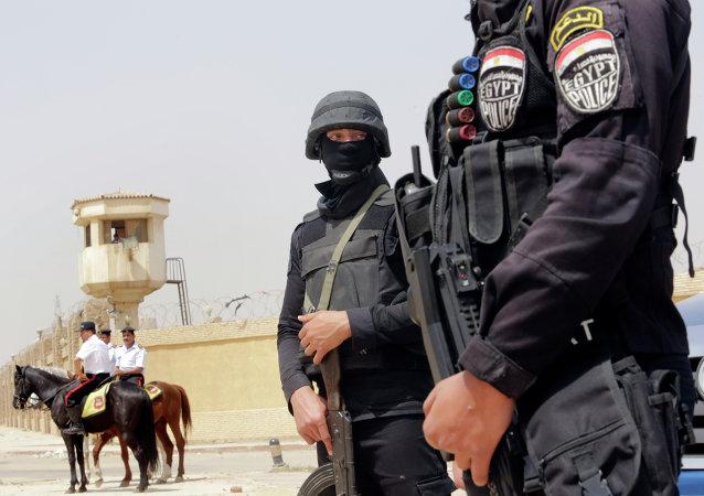 Policías egipcios (archivo)