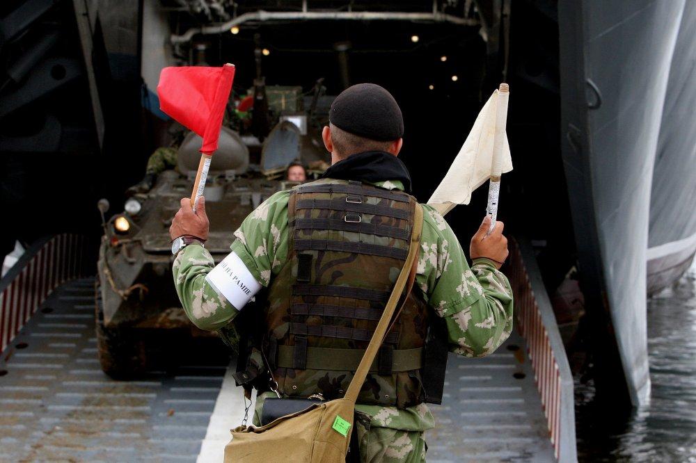 Ejercicios militares ruso-chinos Cooperación Naval 2015