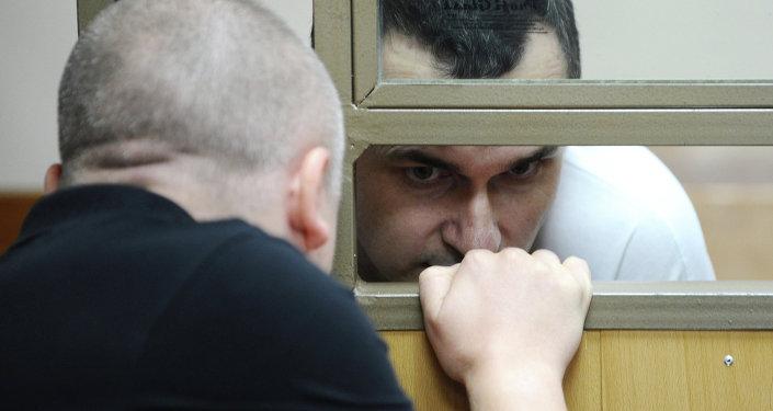 Oleg Sentsov, el director de cine ucraniano