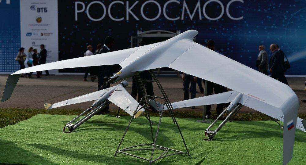 Dron Zala 421-16E5 en Salón Aeroespacial MAKS 2015
