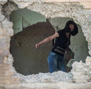 Basurin denuncia bombardeos masivos de localidades cercanas a Donetsk