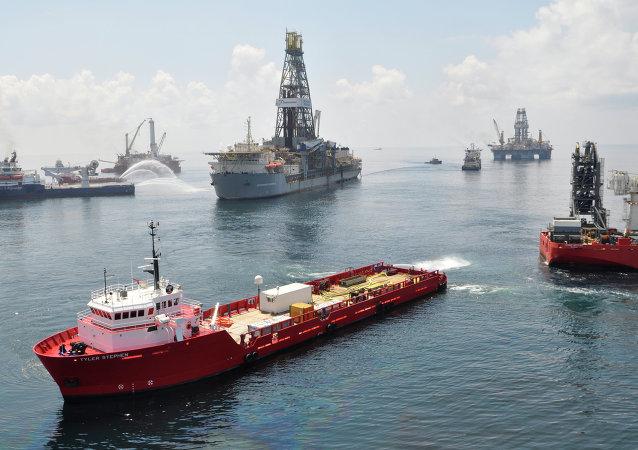 Yacimiento de petróleo en Golfo de México