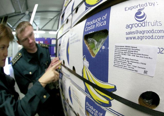 Inspección de los alimentos importados en la región de Kaliningrad