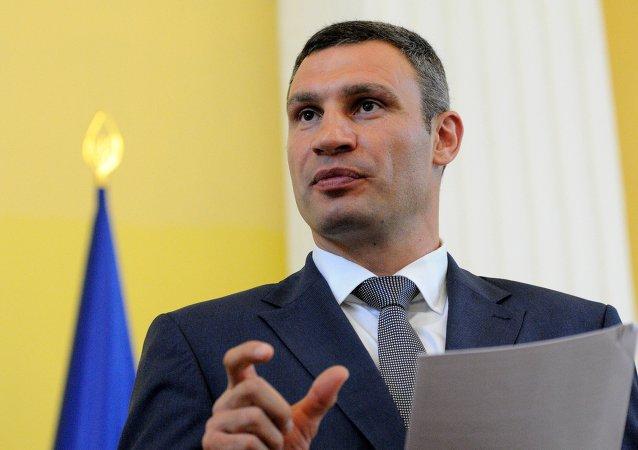 Vitali Klichkó, el alcalde de Kiev