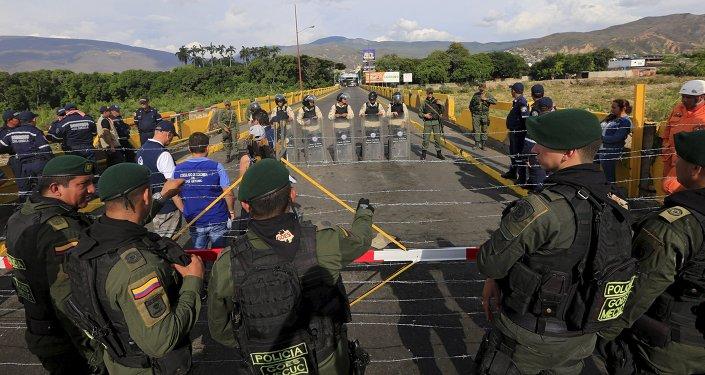 Crisis fronteriza entre Colombia y Venezuela