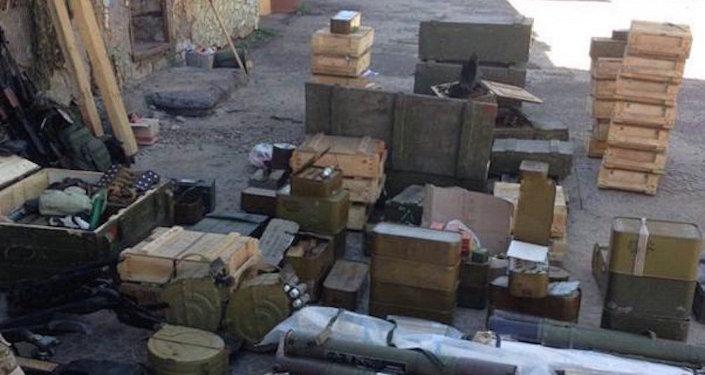 Armamento y municiones ilegales