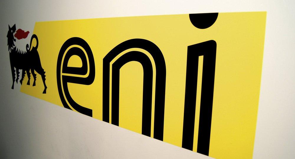 Logo de la compañía ENI
