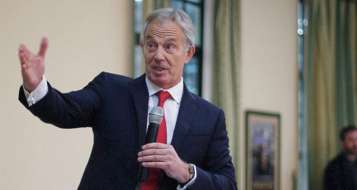 Tony Blair, ex primer ministro de Gran Bretaña