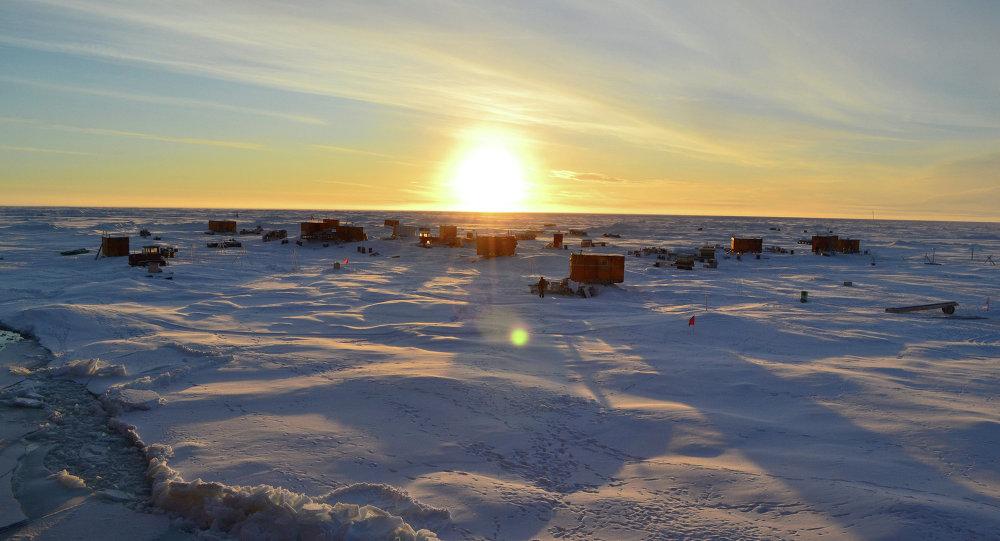 Estación a la deriva SP-40 en el Ártico