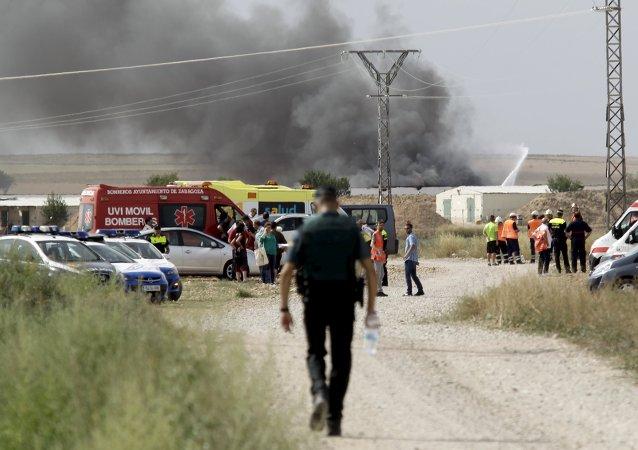 Después de la explosión pirótecnica en Zaragoza
