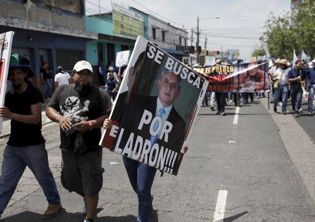Presidente de Guatemala, acusado de corrupción, afirma que no renunciará