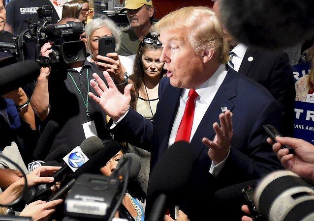 Donald Trump, precandidato presidencial de EEUU
