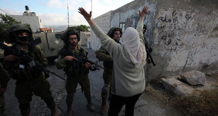 Soldados israelíes durante protestas en Cisjordania (archivo)