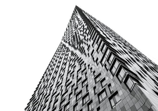 Un edificio de apartamentos en Moscú