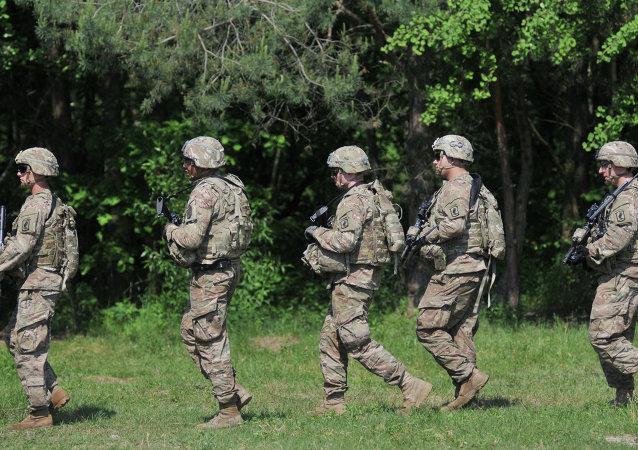Maniobras de la OTAN en Ucrania