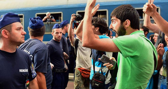 Inmigrantes ilegales en Hungría