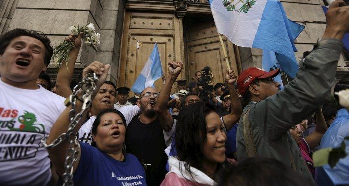 Tensión en Guatemala por la votación del Congreso para retirar inmunidad del presidente