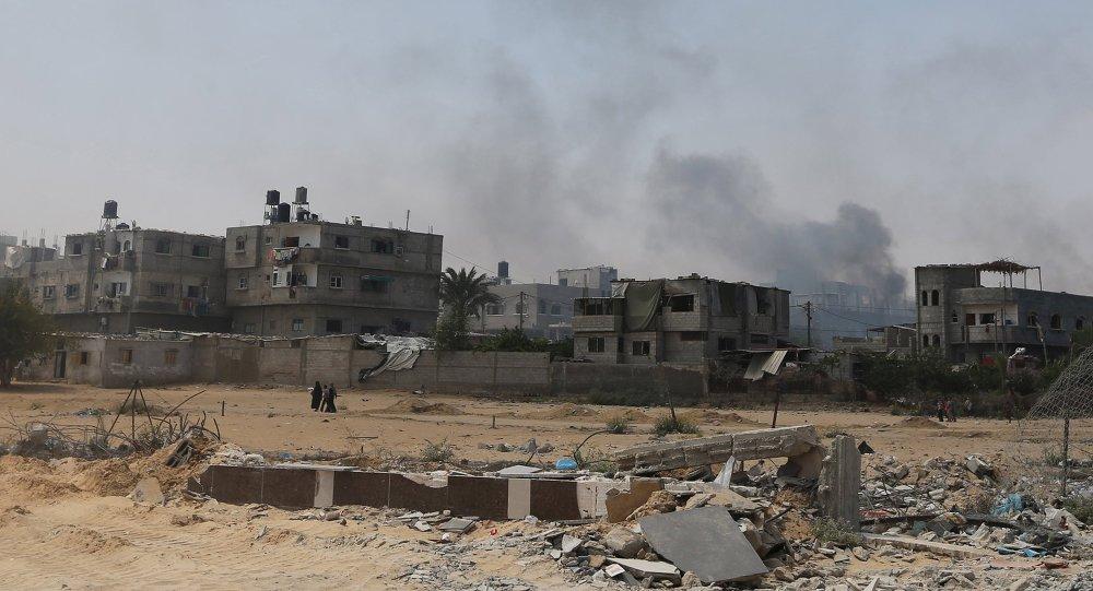 Franja de Gaza (imagen referencial)