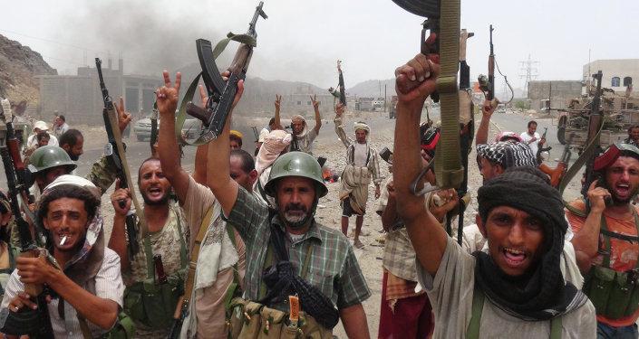 Fuerzas leales al presidente Abdo Rabu Mansur Hadi en Yemen (archivo)