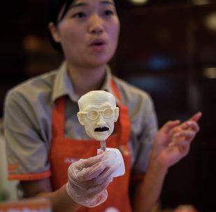 China comercializa helado con el rostro de un criminal de guerra nipón