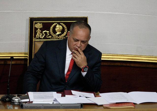 Diosdado Cabello, presidente de la Asamblea Nacional Constituyente (archivo)