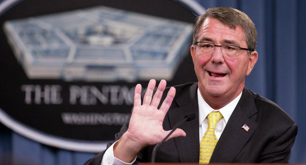 El secretario de Defensa estadounidense Ash Carter