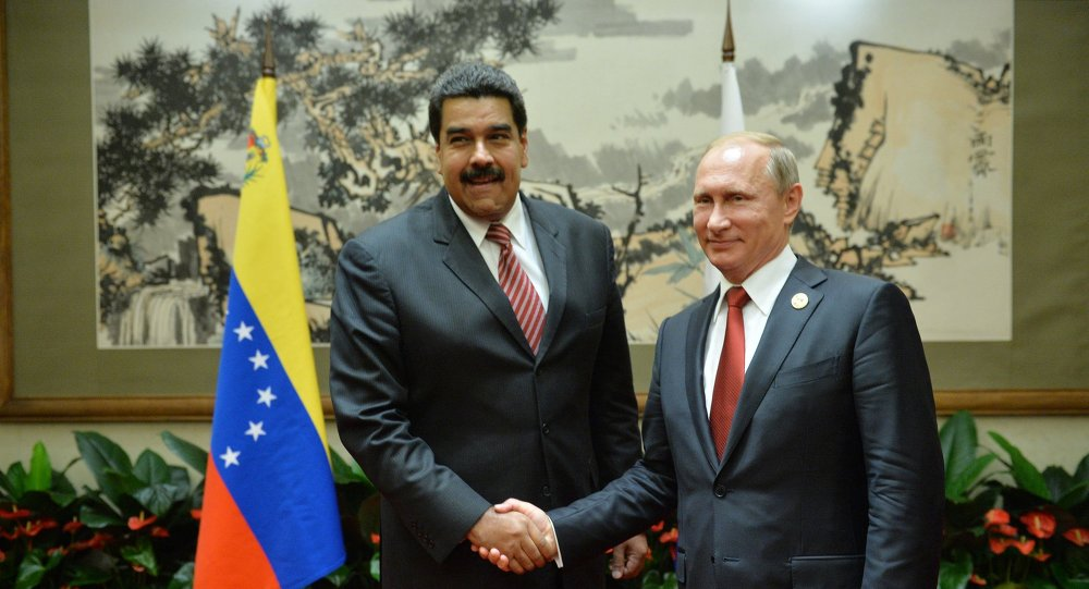Presidente de Venezuela, Nicolás Maduro, y presidente de Rusia, Vladímir Putin (Archivo)