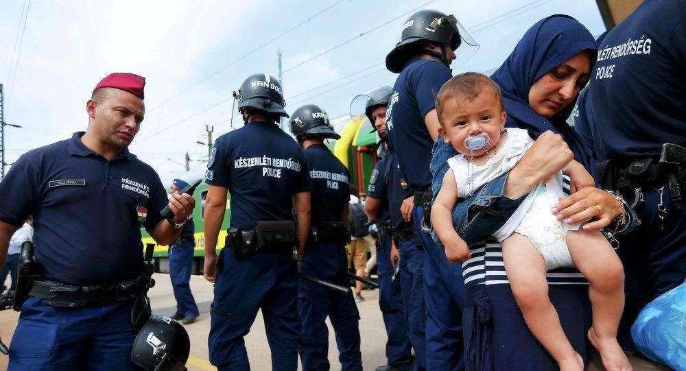 Inmigrantes en Hungría