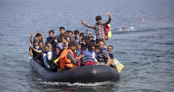 Refugiados afganos (archivo)
