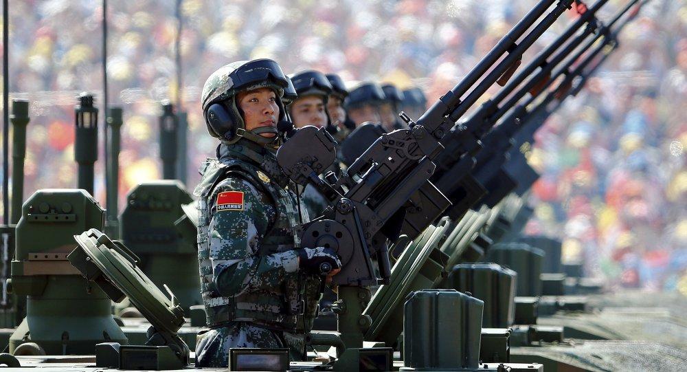 Soldados del Ejército chino