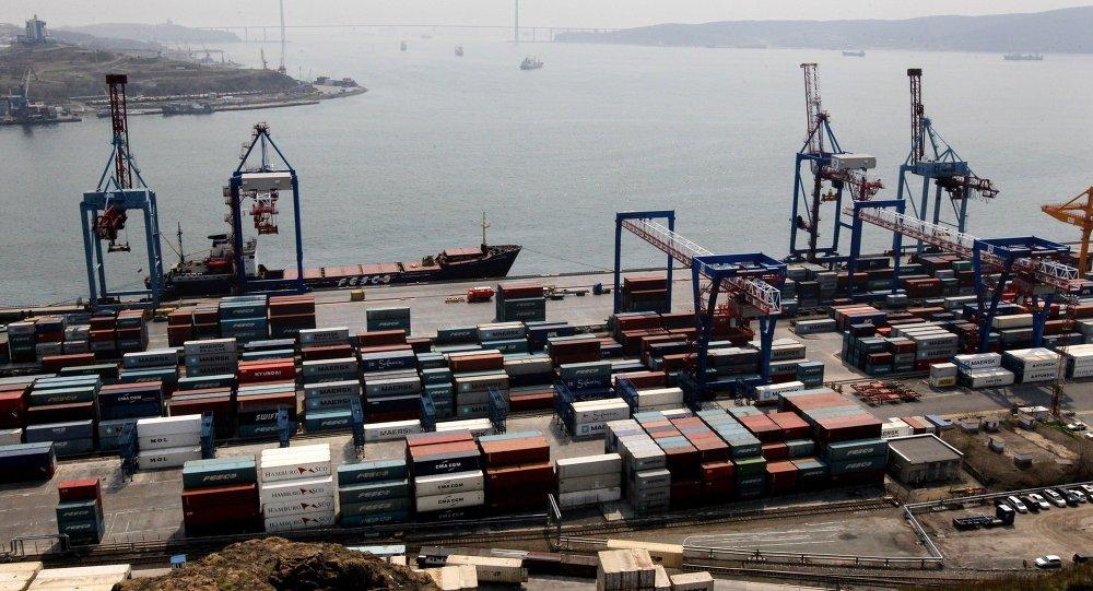 El puerto de Vladivostok