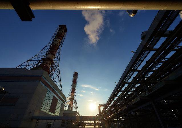 Planta eléctrica de la compañía rusa Inter RAO (archivo)